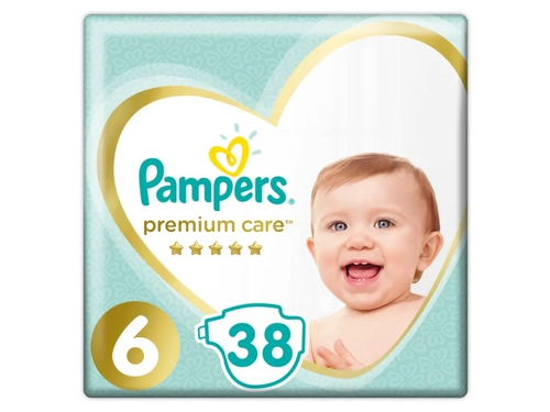 Pampers pieluchy PC Value Pack Extra Large S6 38szt
