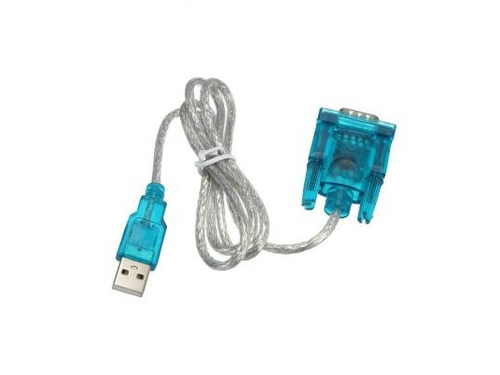 Kabel USB Akyga AK-CO-02 RS-232 USB 2.0 1m kolor srebrny