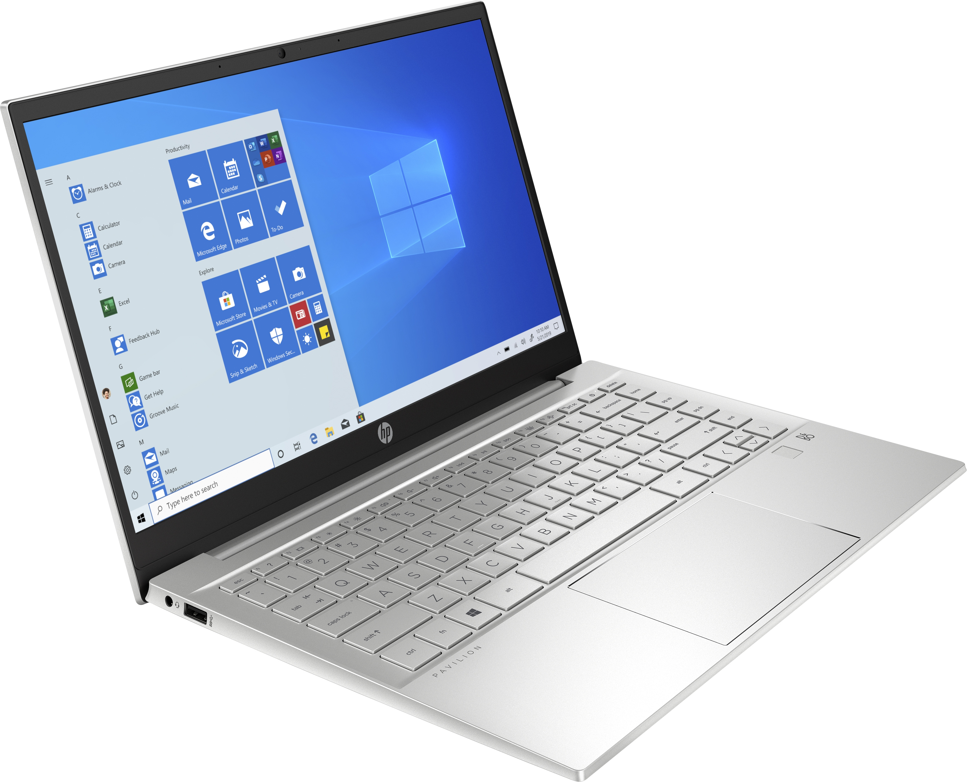 """#HP Pavilion 13-bb0000nw i5-1135G7 13,3""""FHD AG 250nit IPS 8GB_3200MHz SSD512 IrisXe WiFi6 BT5 B&O BLK ALU Win10 2Y Natural Silver"""