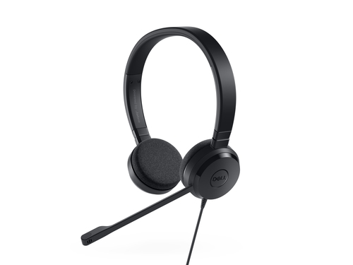 Dell 520-AAMD PC headset USB Stereo On-ear Black