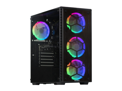 Komputer stacjonarny Actina Core i3-8100 Intel UHD 630 GeForce GTX1060 8GB DDR4 DIMM HDD 1TB SSD 120GB NoOS