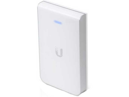 Ubiquiti UniFi In-Wall AC AP 2.4GHz/5GHz, 802.11 a/b/g/n/ac, 3xGbE, 802.3at PoE+ - UAP-AC-IW