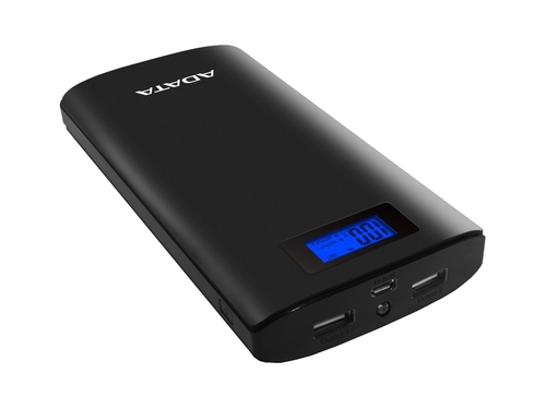 Power Bank ADATA P20000D AP20000D-DGT-5V-CBK 20000mAh USB 2.0