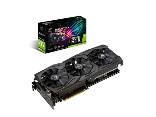 Karty graficzna Asus GeForce RTX 2060 ROG STRIX ROG-STRIX-RTX2060-O6G-GAMING 6GB GDDR6 14000 MHz 192-bit