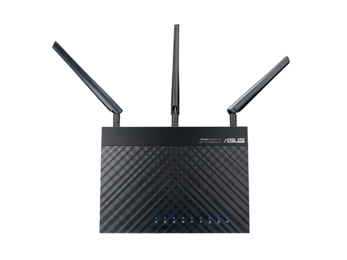 Router ASUS RT-AC66U WiFi N 900Mbps, 2XUSB, D-Band AC1750