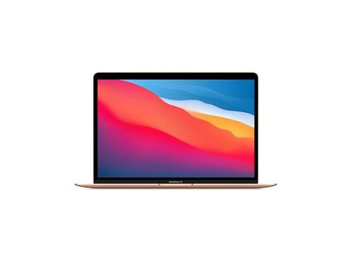 Apple 13-inch MacBook Air: M1 chip with 8-core CPU and 7-core GPU, 256GB - Gold - MGND3ZE/A