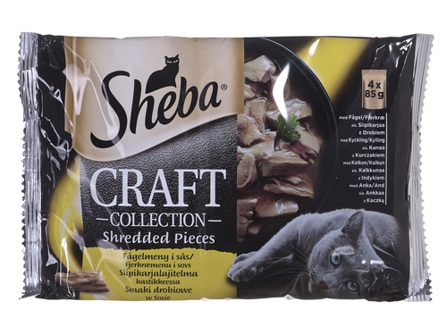 Sheba Craft Collect Smaki Drob. 4x85g