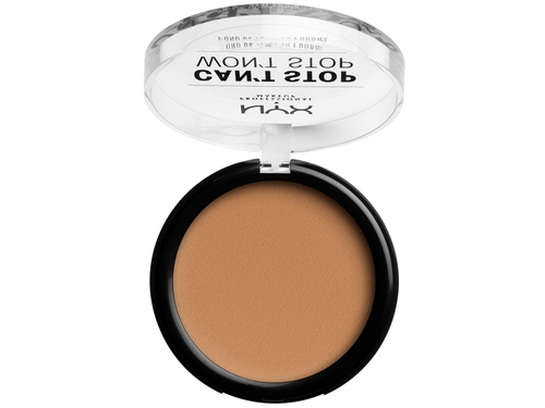 NYX CANT STOP WONT STOP POWDER FOUND. GLODEN HONEY