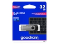 Pendrive Goodram USB 3.0 Twister Czarny 32GB - UTS3-0320K0R11