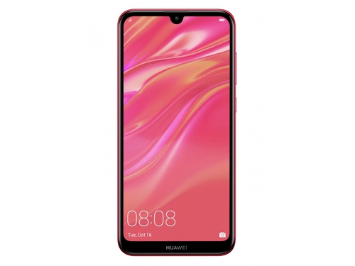 Smartfon Huawei Y7 Bluetooth WiFi GPS LTE DualSIM 32GB Android 8.1 Coral Red