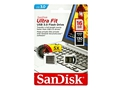 Pendrive Sandisk Ultra Fit USB 3.0 130 MB/S 16GB - SDCZ43-016G-G46
