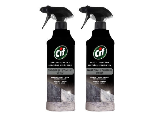 CIF Perfect Finish Spray na nagrobki/pomniki 2x435ml
