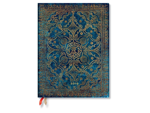 Paperblanks Kalendarz 2019 Azure Ultra Day - 9781439749609