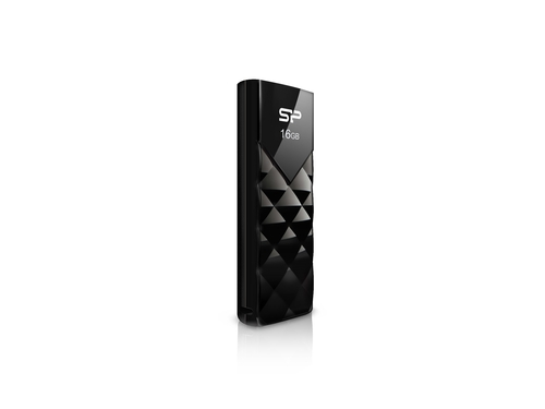 Silicon Power Ultima U03 16GB USB 2.0 TSOP Black - SP016GBUF2U03V1K