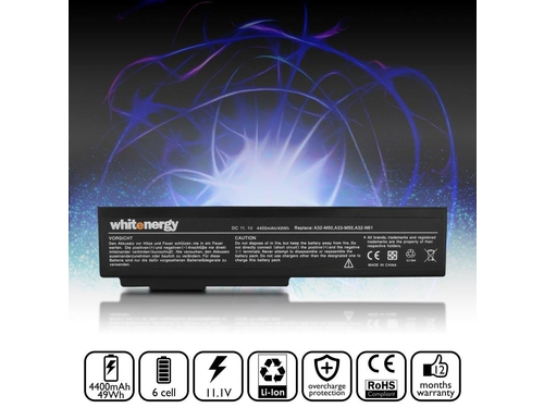 WHITENERGY BATERIA ASUS A32-M50 - 07071