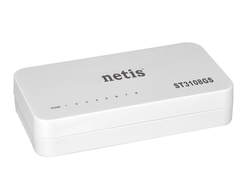 Switch NETIS ST3108GS 8x 10/100/1000Mbps