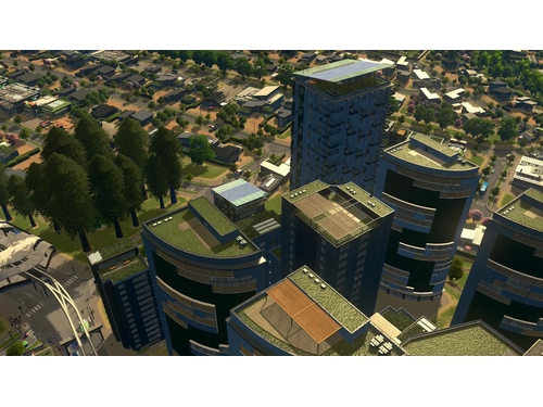 Gra wersja cyfrowa DLC Cities: Skylines - Green Cities