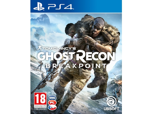 Gra PS4 wersja BOX GHOST RECON BREAKPOINT