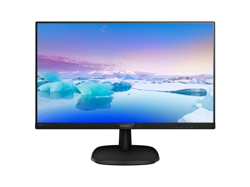 Monitor Philips 243V7QJABF/00, 24inch, IPS, Full HD, HDMI, DP, D-Sub, głośniki