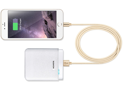 ADATA Kabel Sync and Charge Lightning, USB, MFi (iPhone, iPad, iPod), Czarny - AMFIPL-100CM-CBK