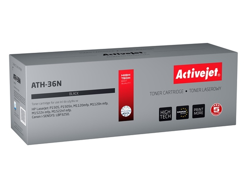 ActiveJet AT-CB436N toner laserowy do drukarki HP (zamiennik CB436A).. - ATH-36N