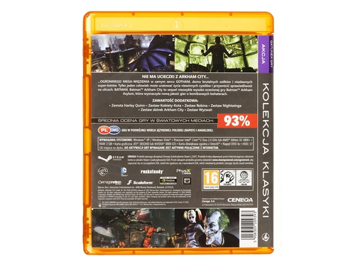 Gra wersja cyfrowa Batman Arkham City: Game of the Year Edition E30526