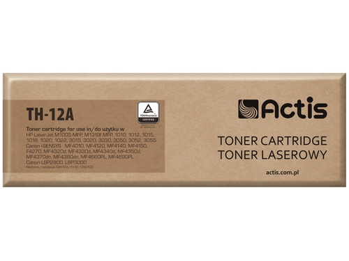 Actis toner HP Q2612A LJ 1010/1020 NEW 100% TH-12A