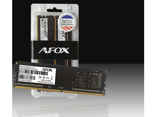 AFOX DDR4 2X8GB 3000MHZ MICRON CHIP CL16 XMP2 - AFLD416LH1CD