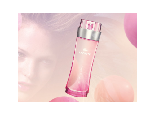 LACOSTE Touch of Pink Women EDT 90ml - 0737052191324