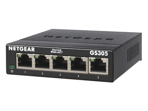 Switch Negear GS305-300PES 5PT GIGE UNMANAGED 300