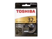 TOSHIBA EXCERIA PRO SDHC 32GB N101 Class 10 UHS-II - SD-XPRO32UHS2(8