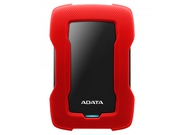 ADATA Durable Lite HD330 1TB 2.5'' USB3.1 Red - AHD330-1TU31-CRD