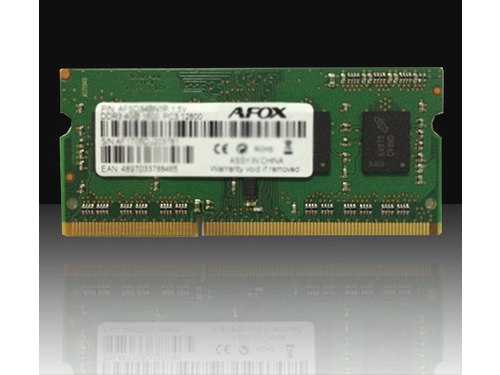 AFOX SO-DIMM DDR3 4GB 1600MHZ MICRON CHIP - AFSD34BN1P