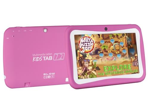"Tablet BLOW KidsTab 7.2 79-006# 7,0"" 8GB WiFi różowy"