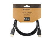 Kabel HDMI 4World 08604 HDMI M HDMI M 1,8m