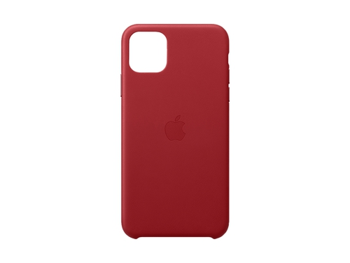 iPhone 11 Pro Max Leather Case - (PRODUCT)RED - MX0F2ZM/A