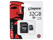 Karta pamięci z adapterem MicroSDHC Kingston 32GB Class 10 SDC10G2/32GB