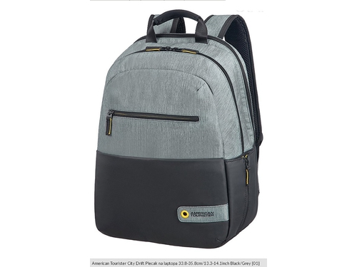 "Plecak do laptopa 14,1"" SAMSONITE American Tourister City Drift 28G09001 kolor czarny"