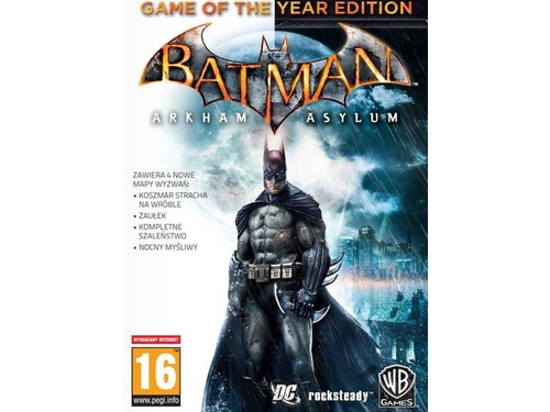 Gra wersja cyfrowa Batman: Arkham Asylum - Game of the Year Edition - M86059