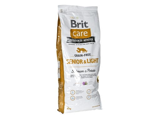 Brit Care Grain-free Senior Salmon & Potato12