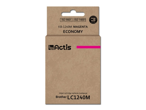 ACS tusz Brother LC1240 Magenta KB-1240M