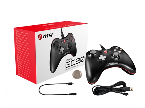 Pad MSI Force GC20 Wired Game Controller