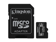 KINGSTON microSDHC Canvas Select Plus 100R + ADP - SDCS2/16GB