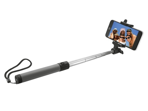 Selfie stick Bluetooth Foldable, black - 21035