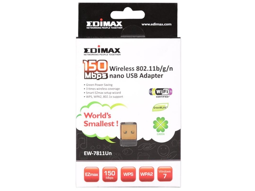 EDIMAX EW-7811UN WIRELESS KARTA USB 802.11N MIKRO