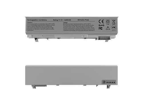 QOLTEC BATERIA DO DELL LATITUDE E6500 | 4400MAH | 11.1V - 52518.E6400