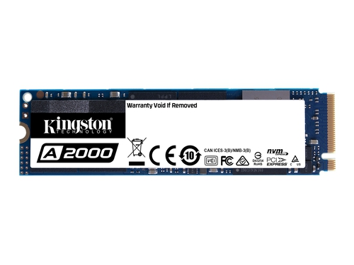 KINGSTON DYSK SSD SA2000M8/500G 500G A2000 M.2 NVMe