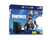 PlayStation 4 Pro 1TB G chassis + Fortnite voucher