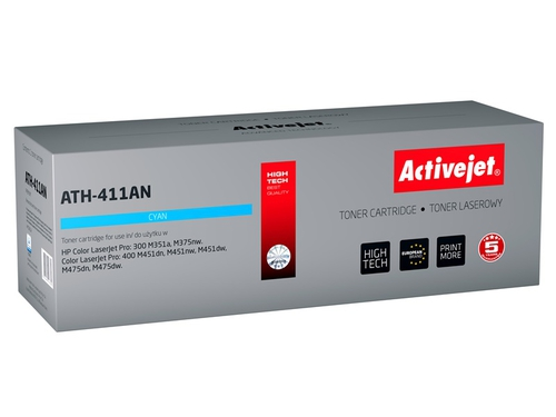ActiveJet toner do HP 305A CE411A  ATH-411AN