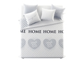 Narzuta Room99 So Cute 200X220 WITH LOVE GREY - ROM1187